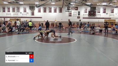 145 lbs Semifinal - Caleb Alvarado, Shore Thing Wrestling Club vs Edward Hummel, Triumph