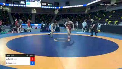 86 kg 3rd Place - Jaxon Smith, Georgia vs Christopher Foca, Spartan Combat RTC