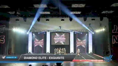 Diamond Elite - Exquisite [2021 L1 Junior - D2 - Small Day 2] 2021 JAMfest Cheer Super Nationals