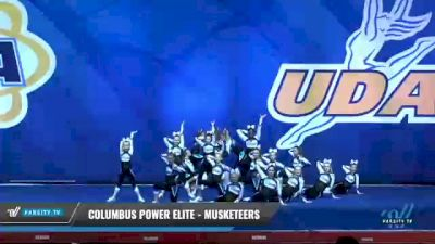 Columbus Power Elite - Musketeers [2020 L3 Junior - D2 Day 1] 2020 UCA Smoky Mountain Championship