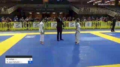 Kimberly Vallejo vs Kenzie Jean Schultz 2021 Pan Kids Jiu-Jitsu IBJJF Championship