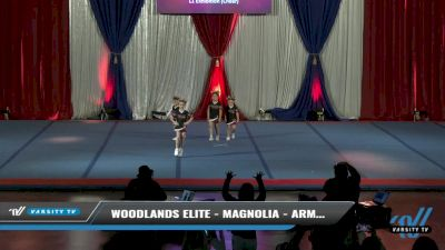 Woodlands Elite - Magnolia - Army Brats [2021 L1 Exhibition (Cheer) Day 2] 2021 The American Spectacular DI & DII