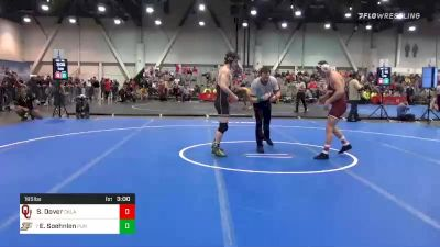 165 lbs Prelims - Sam Dover, Oklahoma vs Emil Soehnlen, Purdue