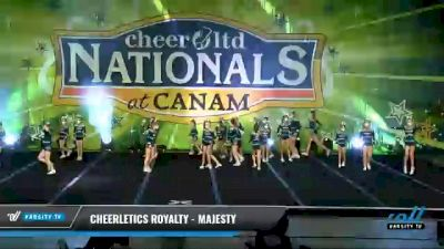 Cheerletics Royalty - MAJESTY [2021 L1 Youth - Small Day 2] 2021 Cheer Ltd Nationals at CANAM