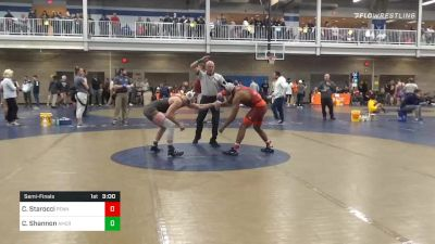 Semifinal - Carter Starocci, Penn State Unattached vs Colin Shannon, American Unattached
