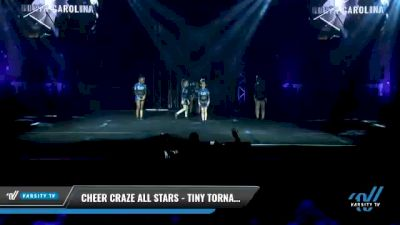 Cheer Craze All Stars - Tiny Tornadoes [2021 L1 Tiny Day 1] 2021 The U.S. Finals: Myrtle Beach