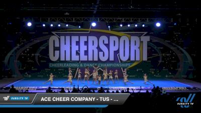ACE Cheer Company - TUS - Golden Spears [2020 Youth Small 2 Division B Day 2] 2020 CHEERSPORT National Cheerleading Championship
