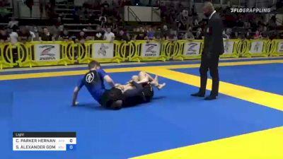 COLBY PARKER HERNANDEZ vs STEVEN ALEXANDER GOMEZ 2021 Pan IBJJF Jiu-Jitsu No-Gi Championship