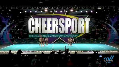 GymTyme Illinois - Smoke [2021 L6 Senior Coed Open - Small Day 2] 2021 CHEERSPORT National Cheerleading Championship