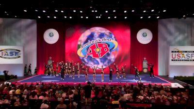 KC Cheer - FIERCE FIVE [2018 Senior Small Coed Finals] The Cheerleading Worlds