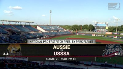 Full Replay - 2019 Aussie Peppers vs USSSA Pride | NPF - Aussie Peppers vs USSSA Pride | NPF - Jun 20, 2019 at 7:22 PM EDT