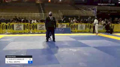 GIANNI PAUL GRIPPO vs THIAGO AUGUSTO ARAUJO MACEDO 2020 Pan Jiu-Jitsu IBJJF Championship