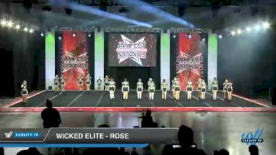 Wicked Elite - Rose [2021 L4 International Open Day 1] 2021 JAMfest Cheer Super Nationals