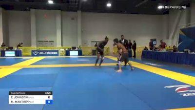 ERI JOHNSON vs MARIO MANTRIPP 2021 American National IBJJF Jiu-Jitsu Championship