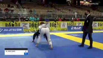 MADISON ANN SIMS vs BRIANNA HOLCOMB 2021 Pan Jiu-Jitsu IBJJF Championship