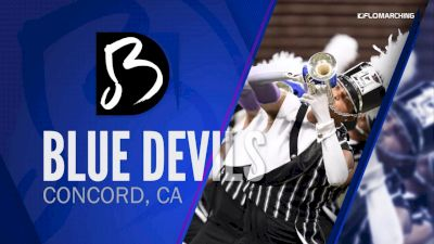 """Blue Devils """"Concord, CA"""" at 2019 DCI Drum Corps at the Rose Bowl"""