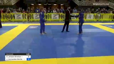Grace Janean Stratton vs Jaylene Hernandez Benitez 2021 Pan Kids Jiu-Jitsu IBJJF Championship