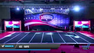ICE - Rays [2021 L4 - U17 Coed Day 1] 2021 ACP: Midwest World Bid National Championship