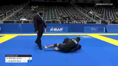 DORIAN MICHAEL OLIVAREZ vs LUIS ALBERTO SALOMON 2021 World IBJJF Jiu-Jitsu No-Gi Championship