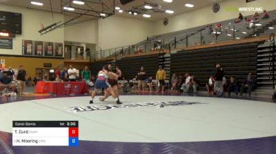 97 kg Consolation - Tyler Curd, Champion W.C. vs Hunter Mooring, Colorado Mesa Wrestling Club