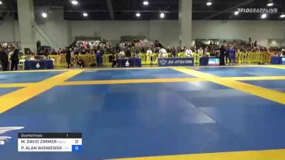 MICHAEL DAVID ZIMMER vs PETER ALAN WISNIEWSKI 2021 American National IBJJF Jiu-Jitsu Championship