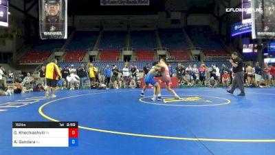 152 lbs Cons Semis - Grigol Khochiashvili, Pennsylvania vs Aaron Gandara, Arizona