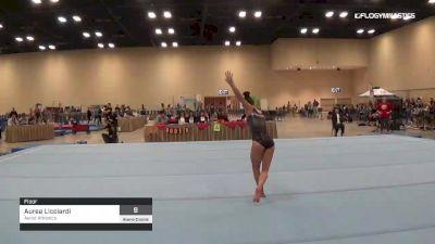 Aurea Licciardi - Floor, Aerial Athletics - 2019 Alamo Classic