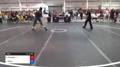 79 kg Prelims - Casey Randles, Viking Wrestling Club (IA) vs Joe Rice, Indiana