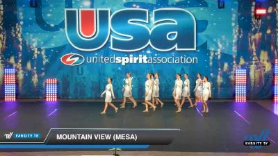 Mountain View (Mesa) [2020 Medium Varsity Jazz (8-11) Day 3] 2020 USA Spirit Nationals