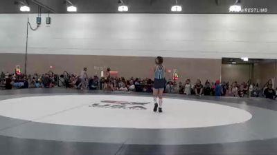 70 kg Quarterfinal - Addison Hunt, TX vs Gail Sullivan, NY