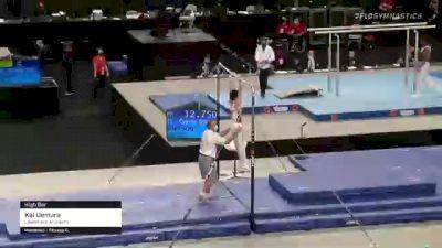 Kai Uemura - High Bar, Lakeshore Academy - 2021 US Championships