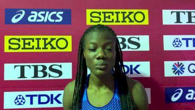 Groin Injury Prevents Shakima Wimbley From Finishing 400m Semi-Final