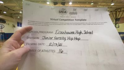 Eisenhower High School [Junior Varsity - Hip Hop] 2021 UDA Spirit of the Midwest Virtual Challenge
