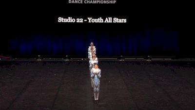 Studio 22 - Youth All Stars [2021 Youth Pom - Small Semis] 2021 The Dance Summit