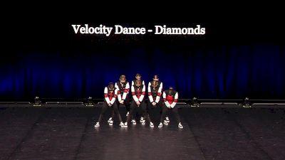 Velocity Dance - Diamonds [2021 Junior Hip Hop - Small Semis] 2021 The Dance Summit