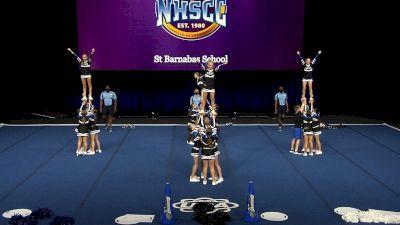 St Barnabas School [2021 Junior High Non Tumbling Finals] 2021 UCA National High School Cheerleading Championship