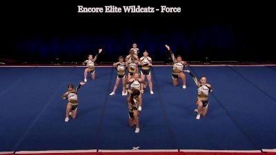 Encore Elite Wildcatz - Force [2021 L1 Junior - Small Wild Card] 2021 The D2 Summit