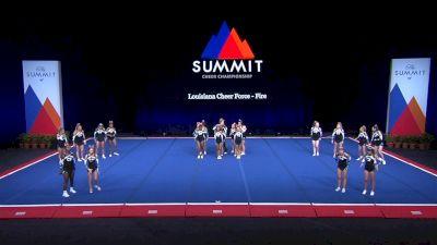Louisiana Cheer Force - Fire [2021 L4 U17 Coed Finals] 2021 The Summit