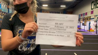 Tri-Town Competitive Cheerleading - Whirlwinds [Exhibition Cheer] 2021Varsity Recreational Virtual Challenge III