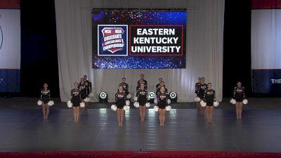 Eastern Kentucky University [2021 Pom Division I Finals] 2021 NCA & NDA Collegiate Cheer & Dance Championship