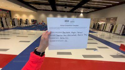 Bartlett High School [Game Day Recreation] 2021 UCA & UDA March Virtual Challenge