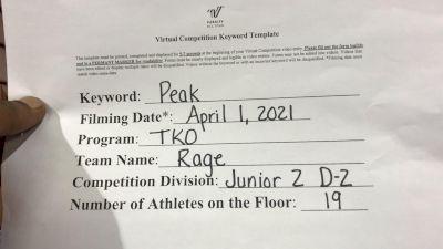 TKO - TKO - Rage [L2 Junior - D2 - Small] 2021 The Regional Summit Virtual Championships