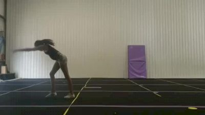 Harmony Morgan - Standing Tumbling (Substituted Skill) [Level 2 - Week 4] 2020 Varsity TV Level Legacy Challenge