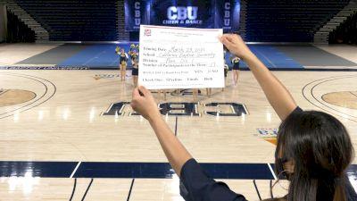 California Baptist University [Virtual Division I Pom Prelims] 2021 NCA & NDA Collegiate Cheer & Dance Championship