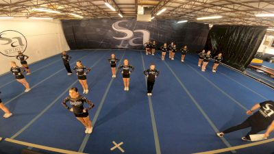 San Antonio Spirit - Team Black [L3 Junior - D2 - Small - A] 2021 NCA All-Star Virtual National Championship