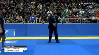GABRIEL SALLES MUNIZ ALMEIDA vs RODRIGO LOPES MARTINS 2021 World IBJJF Jiu-Jitsu No-Gi Championshi