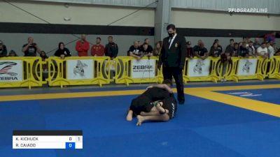 Kieran Kichuck Half Guard Sweep to Darce Choke
