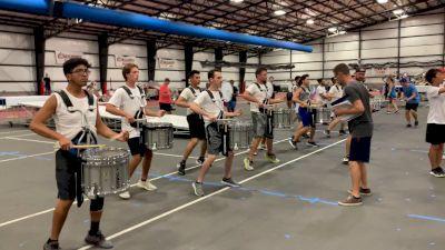 2021 Bluecoats Spring Training: Ensemble Battery Clip 1, On The Move