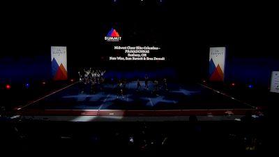 Midwest Cheer Elite-Columbus - PR1MADONNAS [2021 L1 Junior - Small Semis] 2021 The Summit