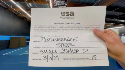 The California All Stars - Ontario - Steel [L2 Junior] 2021 USA All Star Virtual Championships